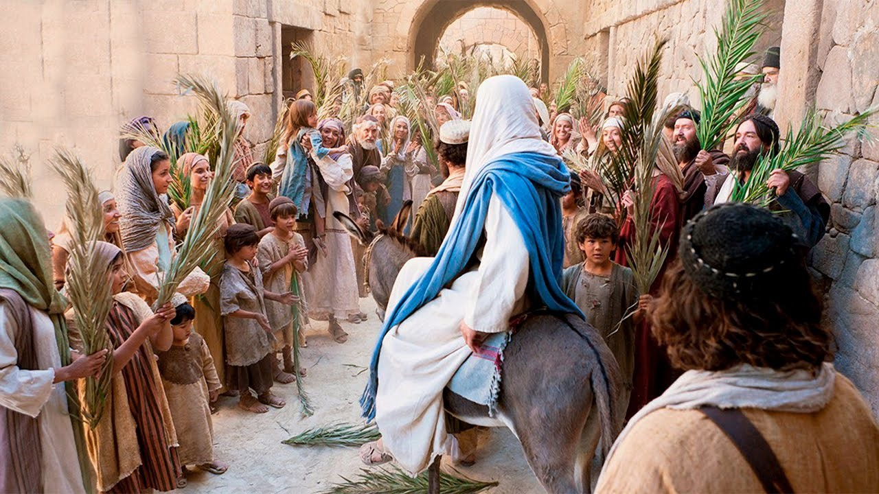 Palm Sunday – Making Jesus' values our own – April 14th