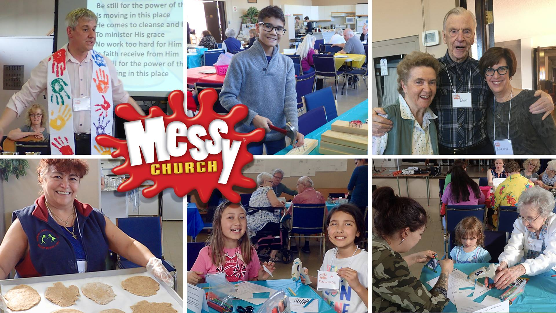 Our next Messy Church is this Saturday at 4pm! YAY : )