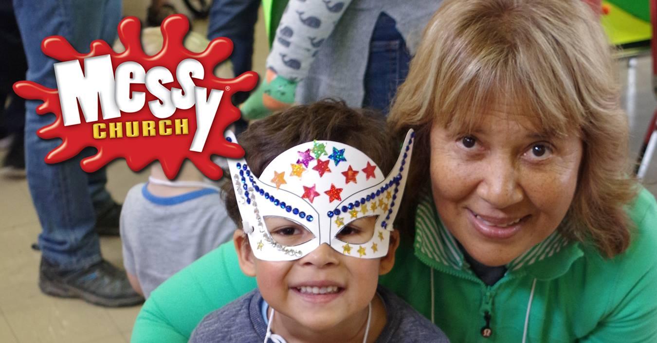 Messy Church!! This Saturday, 13th October at 4pm!!