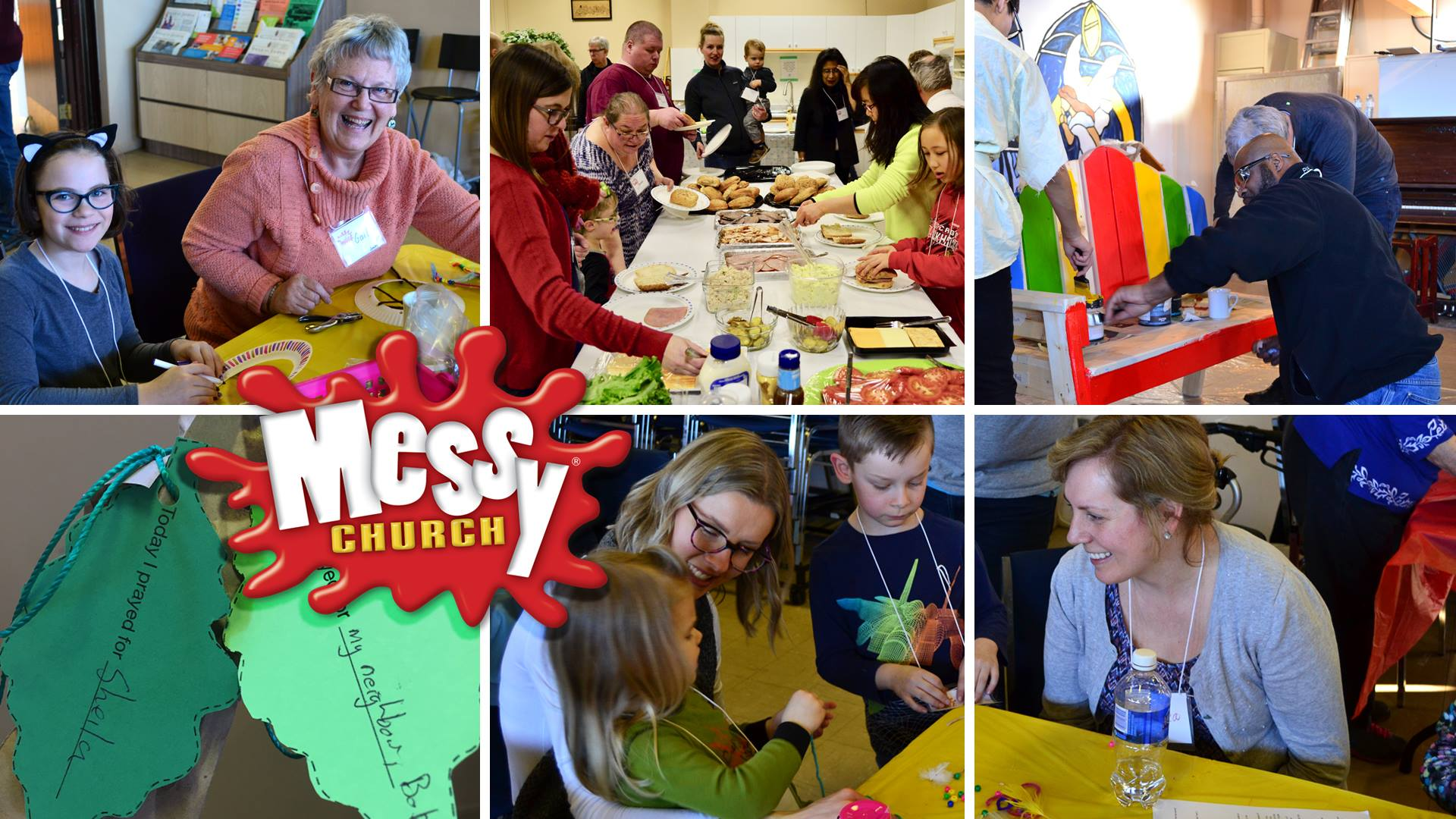It's Messy Church – this Saturday at 4pm