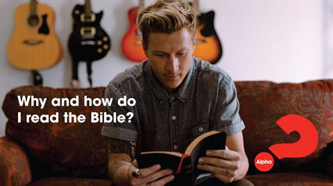 Alpha: Why and How Do I read the Bible?